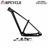 SmileTeam 29er MTB Full Carbon Bike Frame 29ER Bike Frame For BSA New Full Carbon UD
