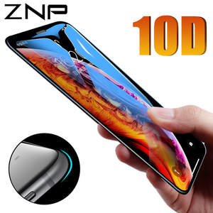 ZNP Protective Glass on For iPhone 6 6 s Plus X Xs Max XR Tempered Screen Protector