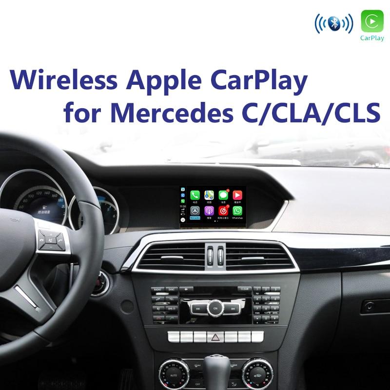 Joyeauto WIFI Wireless Apple Carplay Retrofit C CLA CLS Class W204 13 15 for Mercedes NTG4