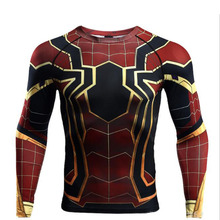 Spiderman Iron Man T Shirt Captain America Avengers 3 Tee 3D Printed Thanos T-shirts Men Fitness Male Gym Tops T-shirts