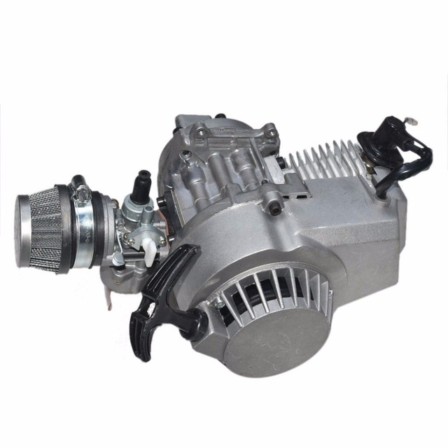 47c 49CC ENGINE 2 STROKE MOTOR MOTORBIKE POCKET BIKE MINI DIRT ATV QUAD COMPLETE