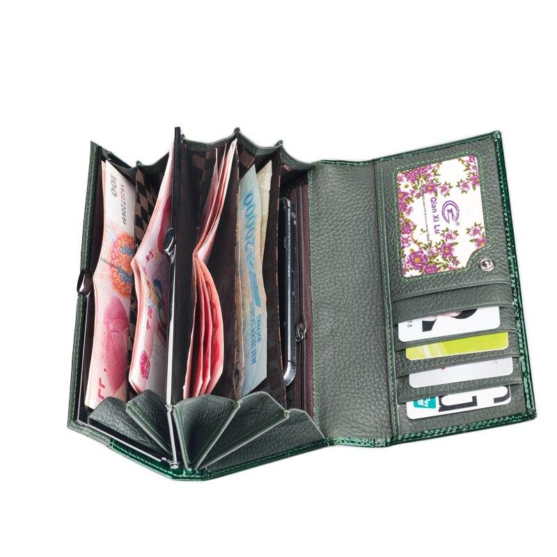 carteira de couro para mulheres Modelo Número : Q8088