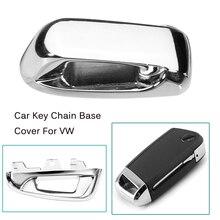 Автомобиль дистанционного брелок металлический крышки Keyless Топ голову базы для Volkswagen для VW Golf 7 MK7 GTI Touran 2016 Octavia A7 2015 2016