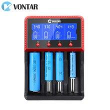 Chargeur de batterie intelligent 18650 charge pour Batteries Li ion rechargeables 26650 18650 14500 16340 AA AAA 1.2V 3.7V 12V 24V