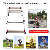 Universal Professional Bike Trainer Racks Bike Training Training Station Tools with Aluminum Alloy Frame Fits For All Bicycle