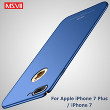 For iphone 7 Plus Case Cover Msvii Silm Luxury Scrub Coque F