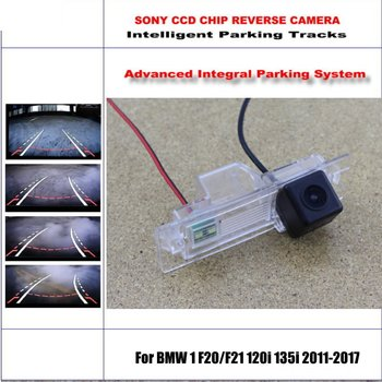 Intelligentized Reversing Camera For BMW 1 F20/F21 120i 135i 2011-2017 Rear View Back Up / 580 TV Lines Dynamic Guidance Tracks