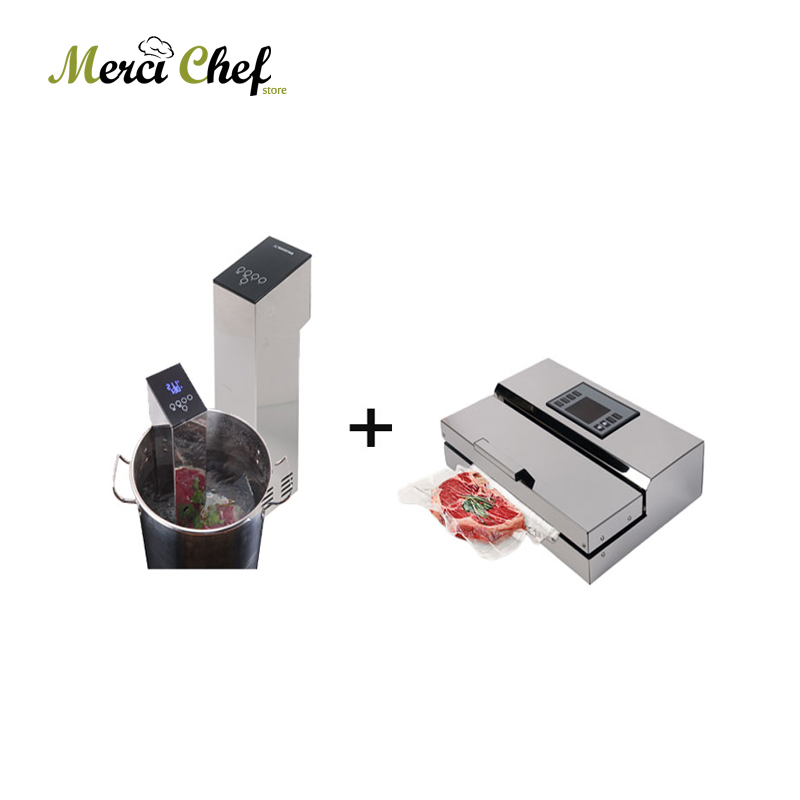 ITOP Vacuum Food Processor Sealer + Sous Vide Slow Cooker Mahince Immersion Cooker Household And Commercial Food Vacuum Machine