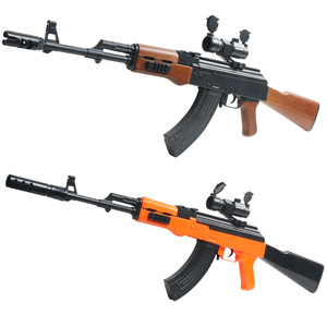 Electric Manual Water Bullet Gun Automatic Manual Free Switching AK47 Toy Gun Outdoor CS Game Orbeez Rifle Weapon Toys For Kids