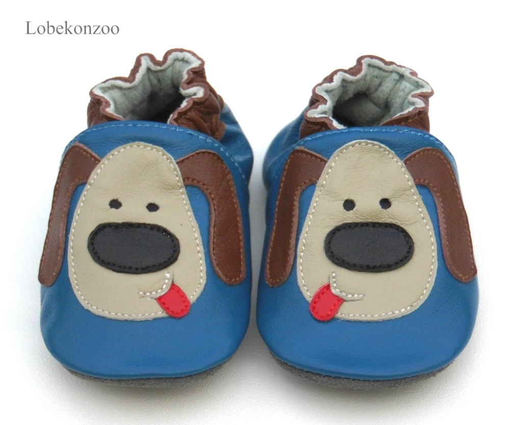 Lobekonzoo Hot Sell Baby Boy Shoes Guaranteed 100% Soft Soled Genuine Leather Baby First Walkers For Boys Infant Boy Shoes(China)