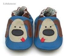 حذاء أطفال أولادي مضمون ماركة lobekonبتصميم أكثر مبيعًا من الجلد الطبيعي الناعم بنسبة 100% حذاء مشاية للأطفال أولادي