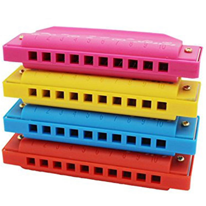 Funny Plastic Harmonica Toy Musical Instrument For Children Learning Educational Attractive Popular Toys Music Toys