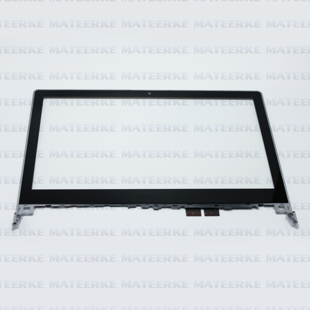 Good Quality for lenovo flex 2-14/14D touch screen digitizer glass replacement with frame sliver color