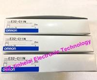 Authentic original OMRON PHOTO ELECTRIC SWITCH FIBER UNIT E32 C11N 2M