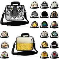 Viviration Print Customized Neoprene Handle Bag Retails 10 12 13 14 15 17 Notbook Shoulder Strap Briefcase Computer Accessories