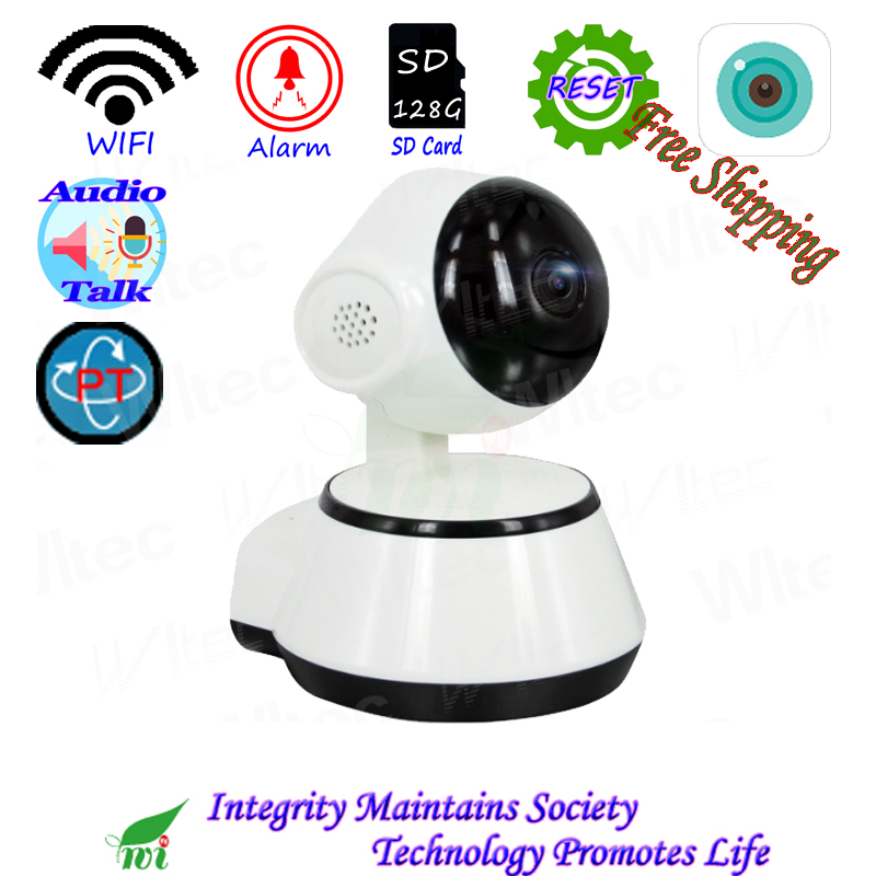 Move Two WIFI 720P IR Leds PT Camera ONVIF Night View P2P IP Cam IR Network CCTV Alarm camera for 128G SD Card storage Live talkMove Two WIFI 720P IR Leds PT Camera ONVIF Night View P2P IP Cam IR Network CCTV Alarm camera for 128G SD Card storage Live talk