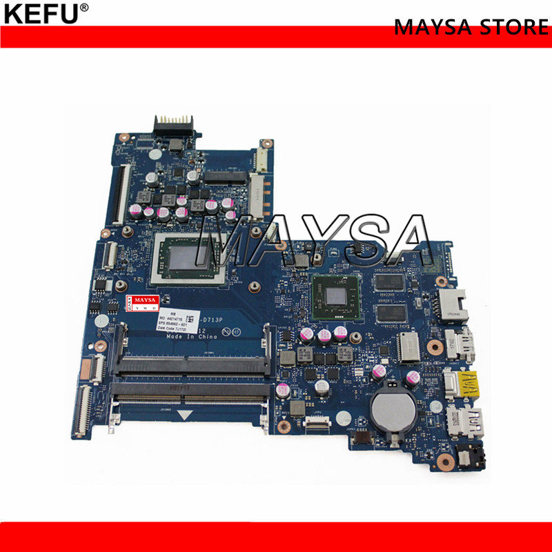 854959-601 854959-501 Fit For HP 15-BA Laptop Motherboard BDL51 LA-D713P A10-9600P CPU R8 M445DX 2GB DDR4 100% Fully Tested