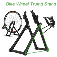 Home Mechanic Bike Bicycle Wheel Truing Stand Wheel Maintenance Home Truing Stand Holder Support Rack Bike Repair Tool Stand