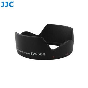 Image 2 - JJC Flower Shape Bayonet Camera Lens Hood for Canon EF 24mm f/2.8 Lens replaces Canon EW 60II Reversible Lens Shade Protector