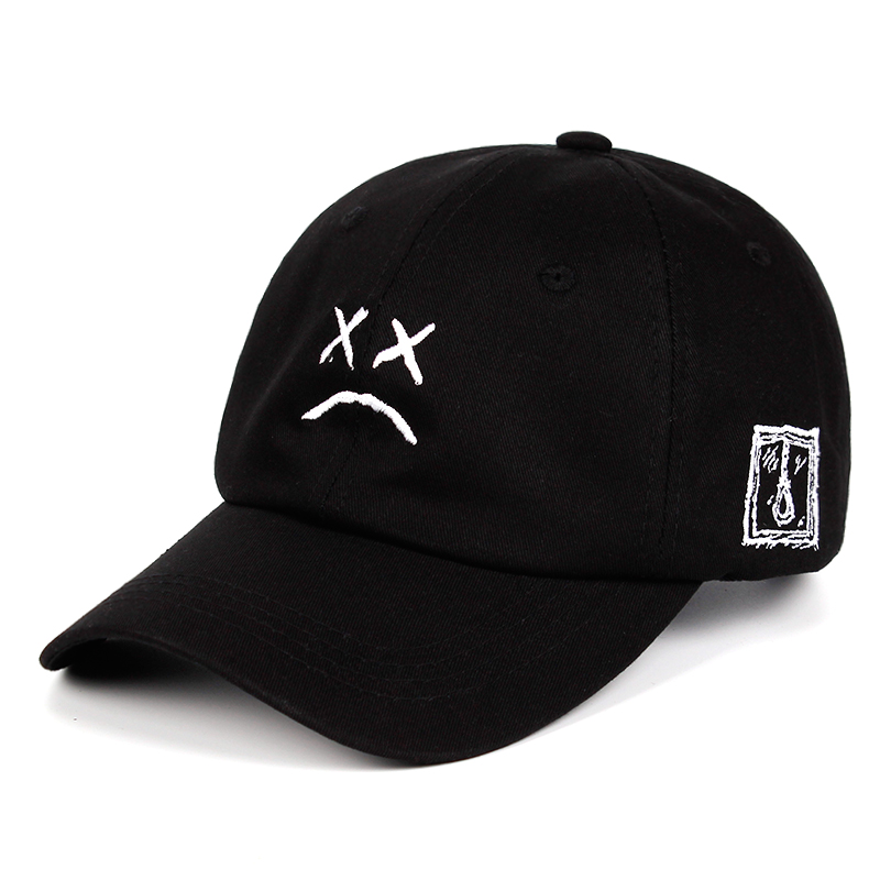 Baseball-Cap Face-Hat Embroidery Hip-Hop-Cap Sad Snapback Women Xxxtentacion Golf-Love-Lil.peep