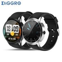 Diggro DI01 Android 5.1 IP67 MTK6580 сердечного ритма Мониторы 1 ГБ/16 ГБ sim 3 г WI-FI Камера вызова шагомер погода здоровья Смарт-часы