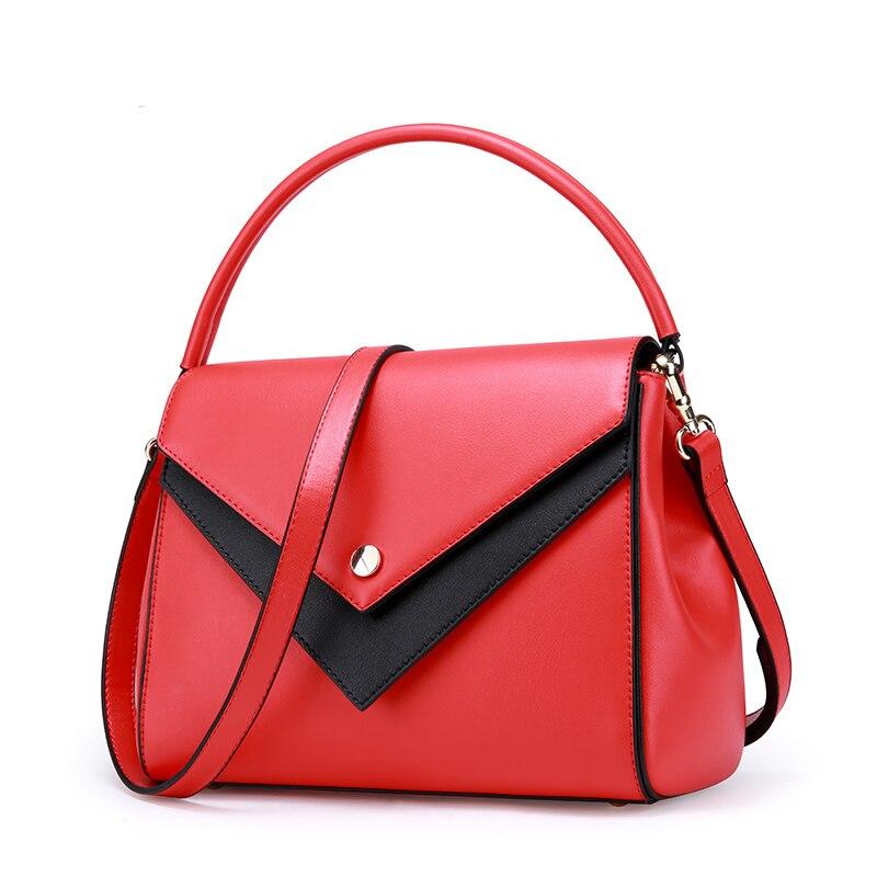 Et Couleur Les Femmes Mode red Épaule Section Nouveau En Cuir Kelly États unis L'europe À Sac Hit Croix Main Black De qBXFBPvw