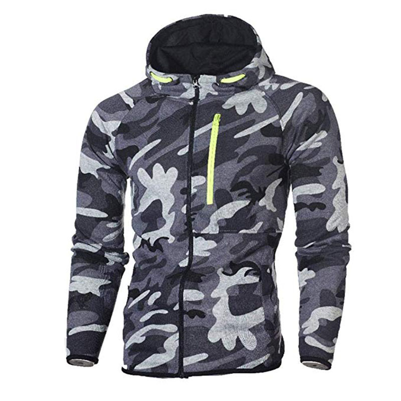 Men\`s Autumn Winter Snowboarding Camouflage Top Pants Slim Sports Suit Tracksuit Hoodies Camo Suit Long Sleeves Sweatshirt (6)