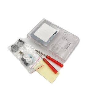 Image 5 - حافظة كاملة الإسكان شل استبدال ل Gameboy جيب لعبة وحدة التحكم ل GBP شل مع أزرار عدة