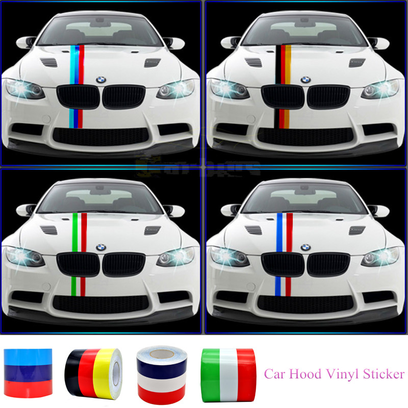 BMW M logo tail pipe car vinyl stickers decals for M3 M5 M6 e36 e46 all 4 pcs Graphics Cuts