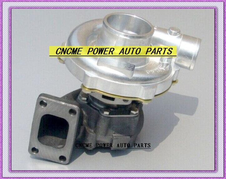 TURBO T3T4 T3 T4 T3/T4 TO4E 5 болт/R. 63 comp/р. 50 без перепускным воды охлажденный Турбокомпрессор для универсальных машин 170 155kW