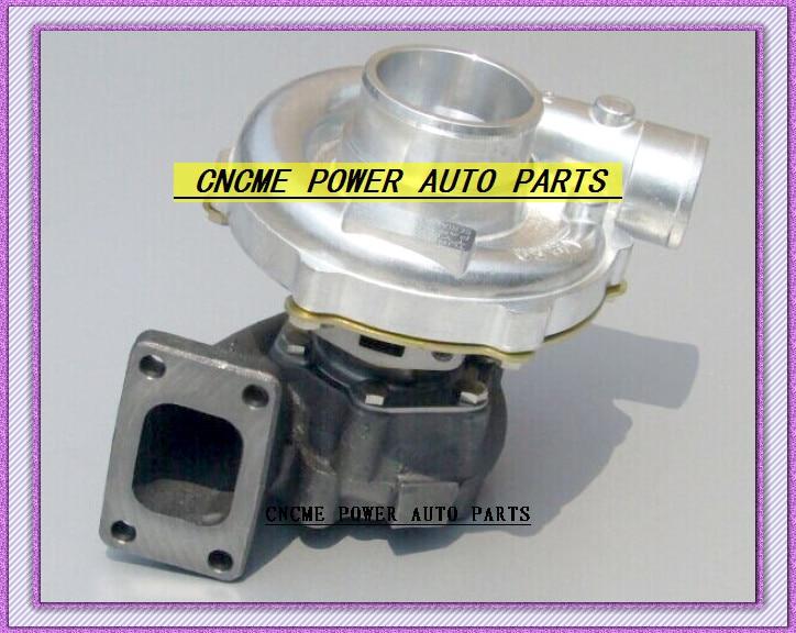 TURBO T3T4 T3 T4 T3/T4 TO4E 5 boulons A/R. 63 comp A/R. 50 sans turbocompresseur refroidi à l'eau pour voitures universelles 170-155kW