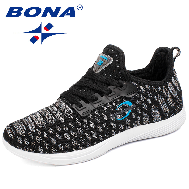 $31.92 BONA New Popular Style Women Running Shoes Mesh Lace Up Outdoor Walking Shoes Comfortable Sneakers Soft Light Fast Free Shipping