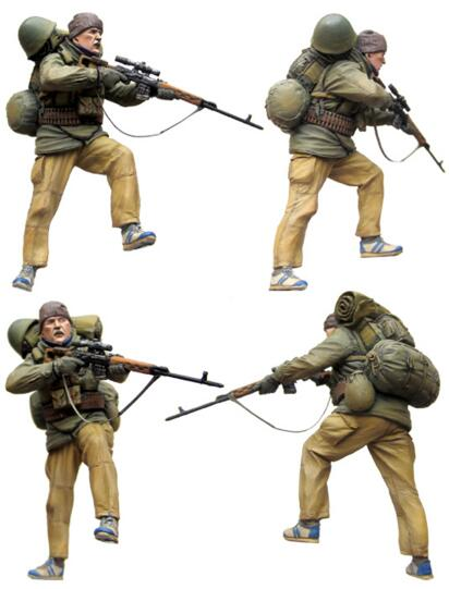 1/35 Resin Figure Sniper Of Special Troops 1pc Model Kits