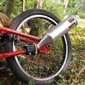 Crianças Brinquedo Da Bicicleta Sistema de Exaustão Transformar A Sua Moto Em Uma Motocicleta