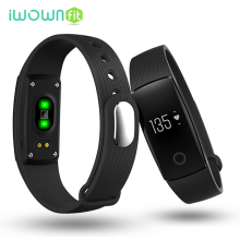 V05C Smart Wristband Smart Band Bracelet Heart Rate Monitor Pedometer Call / Message Reminder for IOS Android Phone