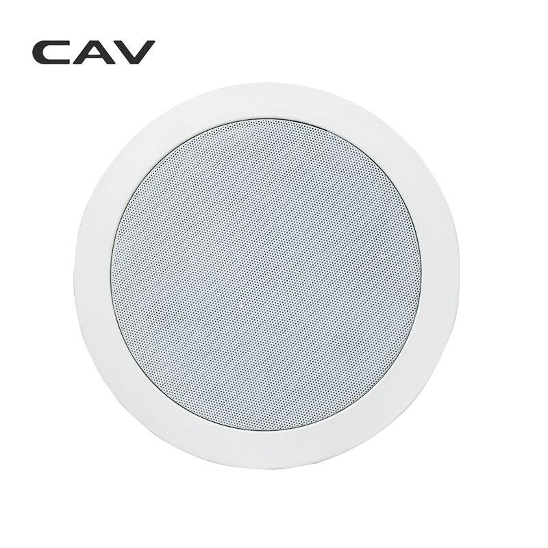 Электрические плиты CAV HT-62 In-ceiling динамик домашний кинотеатр 5,0 СИСТЕМА фоновая музыка глубокий бас аналоговая передача настенный встроенный динамик s (Фото 4)