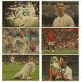 Фифа лучшим Игроком года криштиану роналду плакат Стикер Стены Футбол Реал бумаги плакат Kid Спальня роналду 7