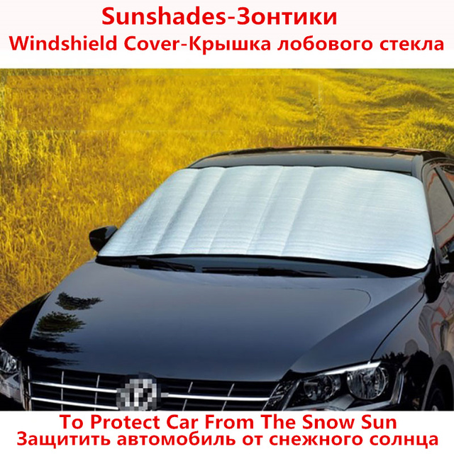 TENGRUI Windshield Cover For Volkswagen Golf 4 Sun Protection To Protect Car  From The Snow Sun