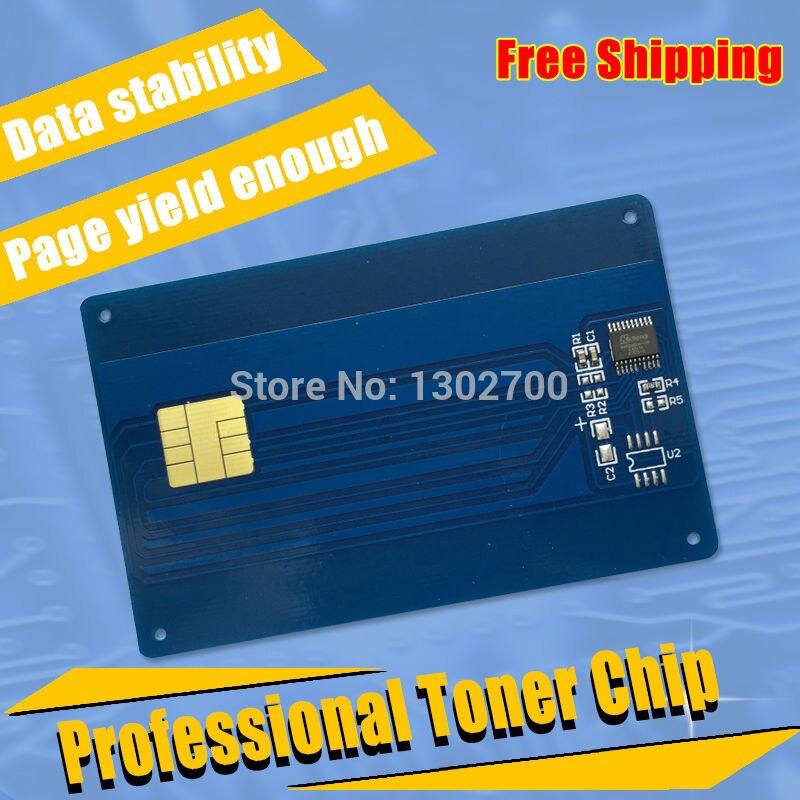 56123401 Toner Cartridge chip For OKI data MB260 MB280 MB290 OKIdata MB 260 280 290 B260 printer powder refill reset counter 3K  powder for oki data b 710dn for okidata b 710n for oki b 730 for oki data b 710dtn universal laserjet powder free shipping
