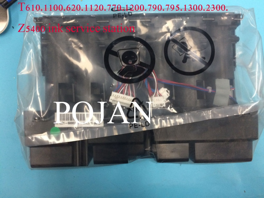 Q6683-60188 Left ink supply station for Designjet T610 T620 T770 T790 T1100  T795 PS Q6683-60188 ink printhead Plotter parts refurbished q6683 60195 24inch plotter ink supply tubes for hp designjet t610 t1100