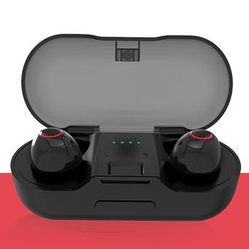 Earphones Bluetooth 5.0 Bass Mic Wireless Earbuds Gaming Stereo Headphones Handsfree Charging Case Sports Enhanced IPX5 Headset