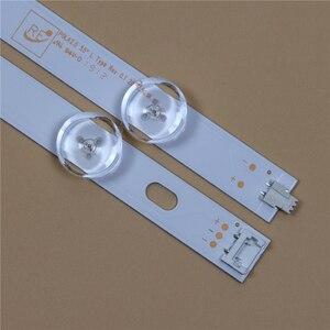 Image 5 - TV LED Light Bars For LG 55LN5758 55LN575R 55LN575S 55LN575U Backlight Strips L R Kit 12 LED Lamps Lens 14 Bands Pola2.0 55 inch