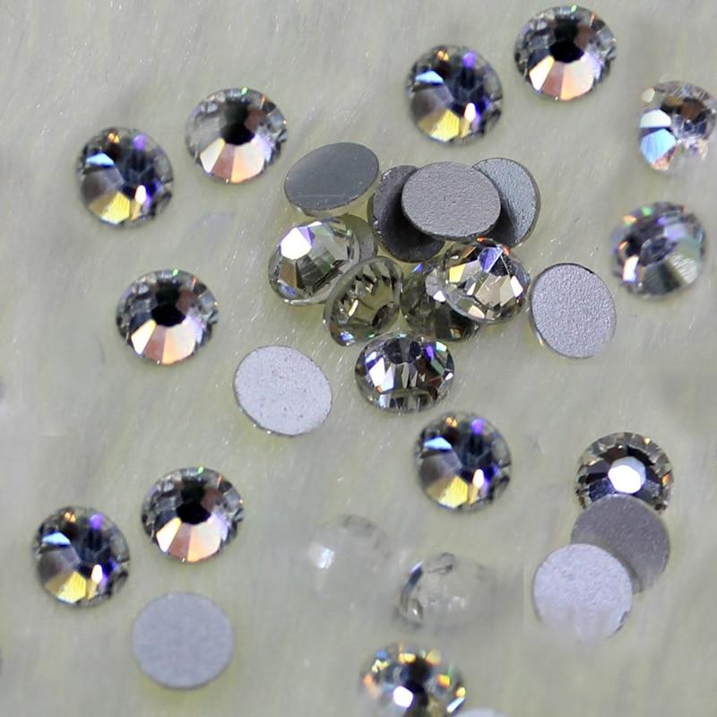 Crystal Castle Shiny None Hot fix Rhinestones ss6 2mm Nail Art Stones - Արվեստ, արհեստ և կարի
