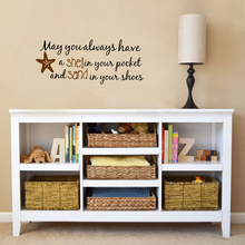 Life Quote Wall Sticker – May you always have Shell ..Beach Saying wall art vinyl decal home decor