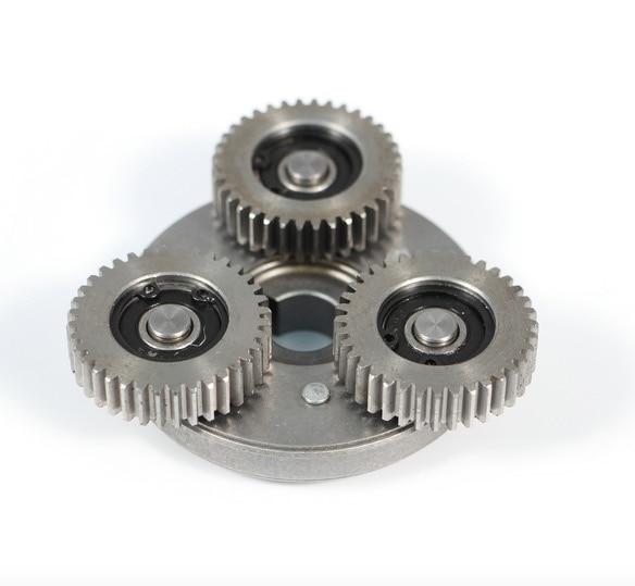 Engrenage de Moto sans brosse de véhicule électrique de vitesse en acier de 36 dents 608 portant l'ensemble d'embrayage à sens unique