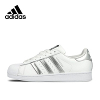 New Arrival Authentic Adidas Originals Superstar Breathable Men's And Women's Unisex Skateboarding Shoes Sports Sneakers G17068