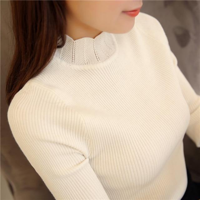 6615 de las nuevas mujeres de la camisa de cuello de encaje 29