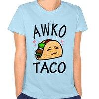 Trendy Awko Taco Woman T-shirt Hip Hop Shirts T-shirt for Women