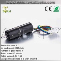 Custom bubble machine The rotor inside vessel Brushless DC motor 4 pole planetary gearbox motor 28MM Reduction ratio3.7:1