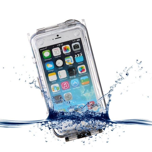 best website 2459c 718b9 US $60.68 |40m/130ft Professional Underwater Waterproof Diving Protective  Polycarbonate Glass Case Cover for Apple iPhone 6 Plus 5.5 inch on ...